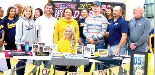 Duff Signs to SAU Tech Softball Team