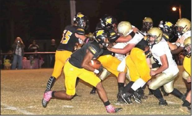 Bulldogs Lose Against RisonWildcats, 48-13
