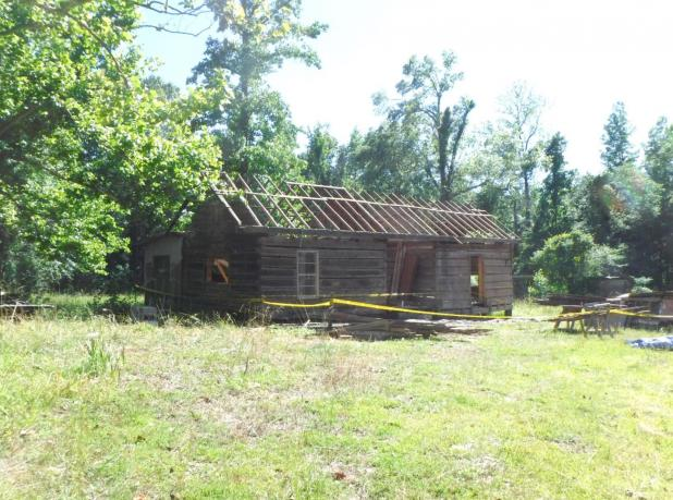 County Dismantles Hamp Williams Cabin