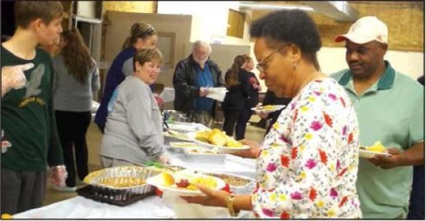 Community Comes Together for Thanksgiving