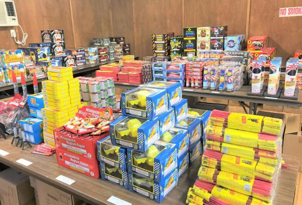 Church Pays Way for Camp and Missionaries With Fireworks
