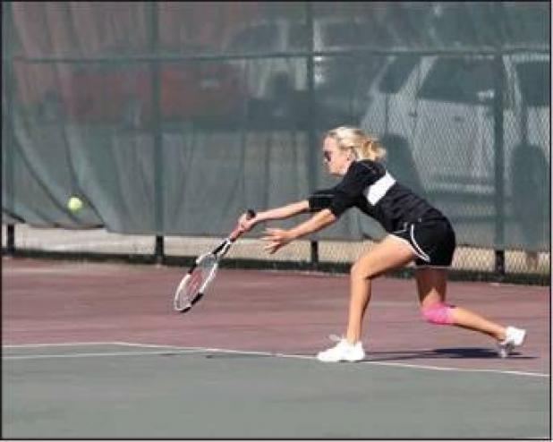 Hampton Tennis Team Compete in State Tournament