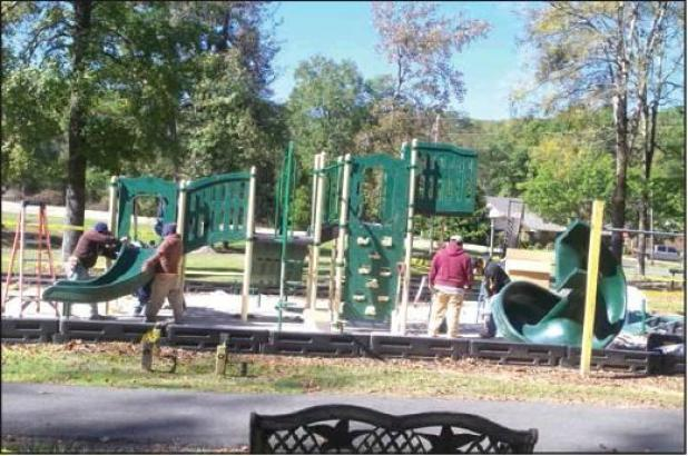 New Playground Equipment Installed at City Park