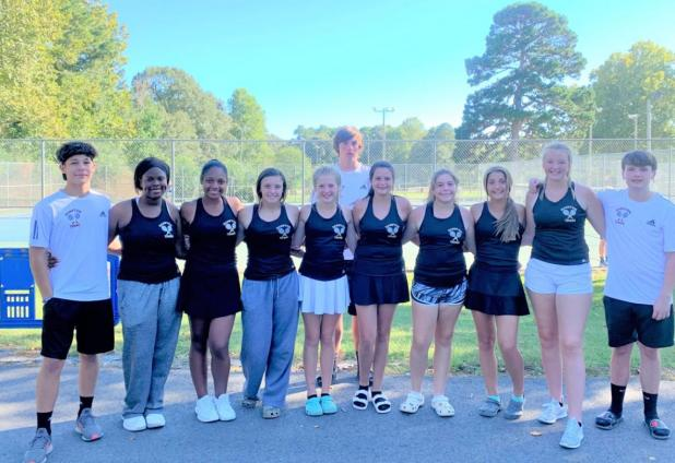 Hampton Tennis Team Heads to State
