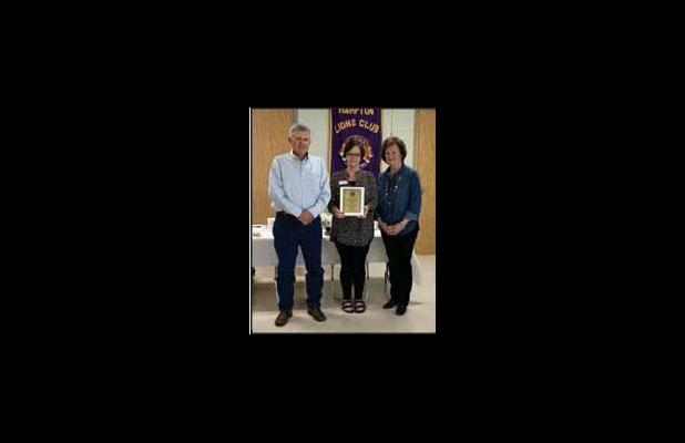 Lions Club Visits with 2018 and 2019 Farm Families of the Year
