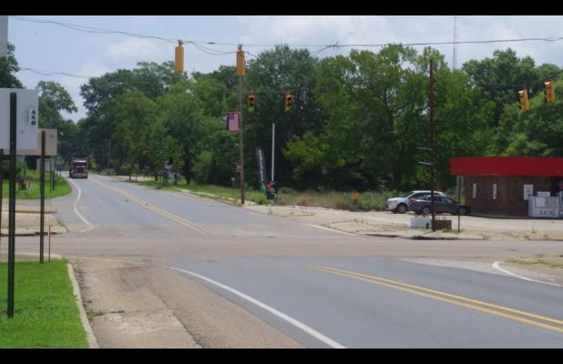 Downtown Stoplight Turns to Four-Way Stop