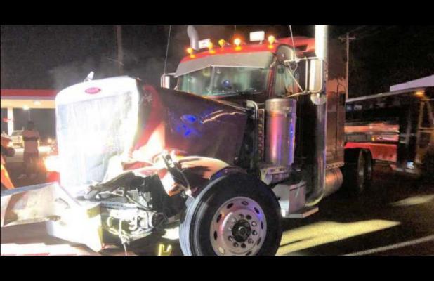 Vehicle Crash at Intersection