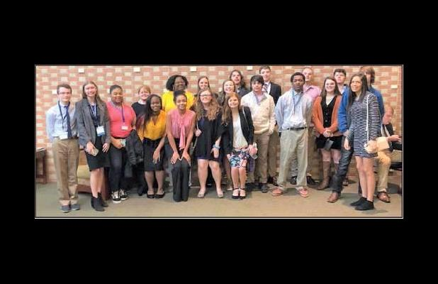 Hampton Students Place at Conferences