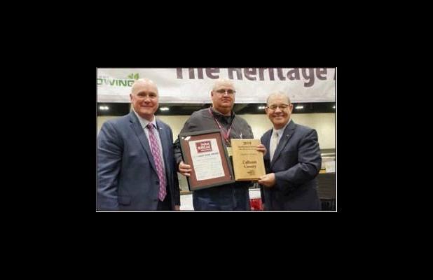Calhoun County Farm Bureau Receives Recognition