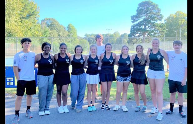 Hampton Tennis Team Heads to State